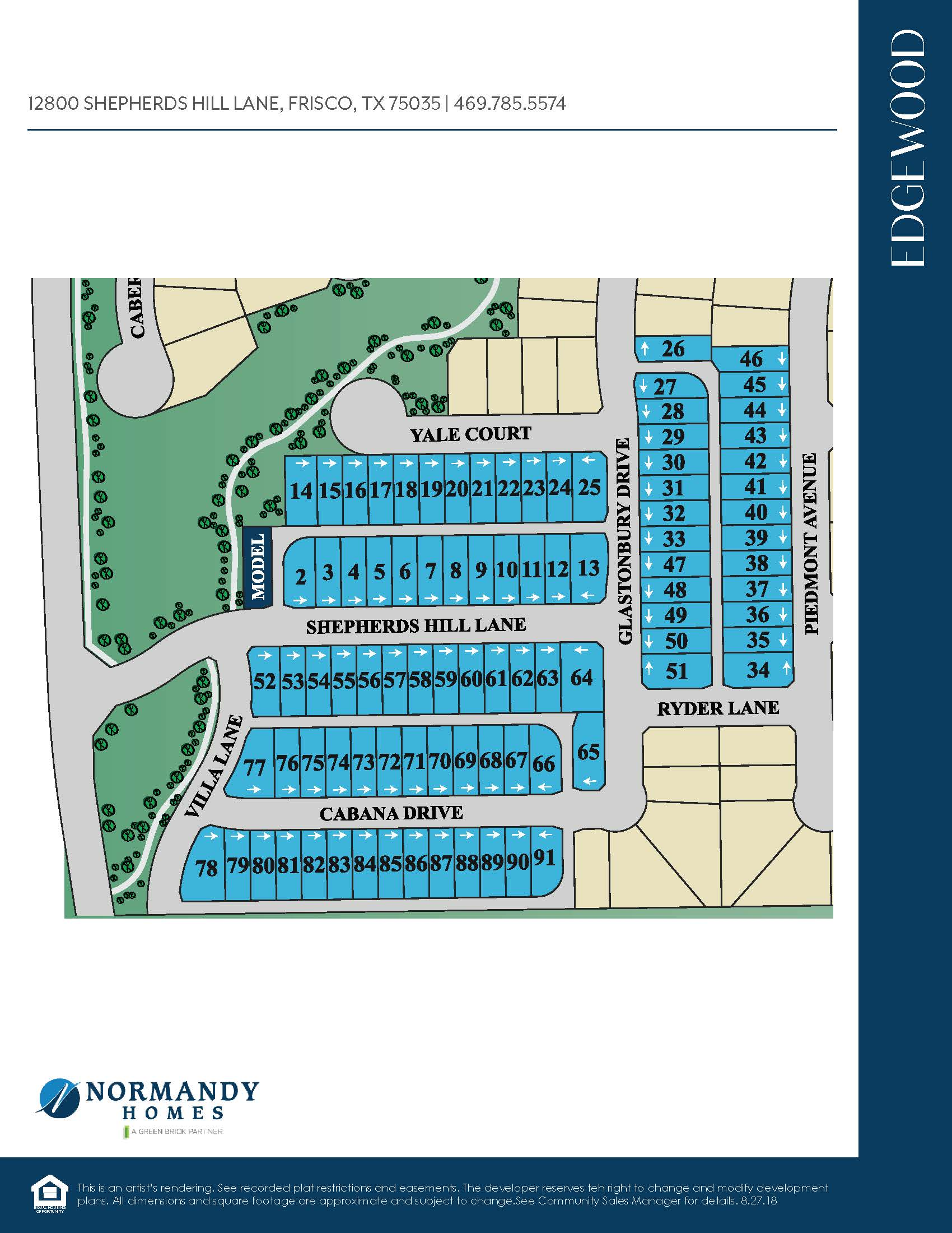 Edgewood Site Map