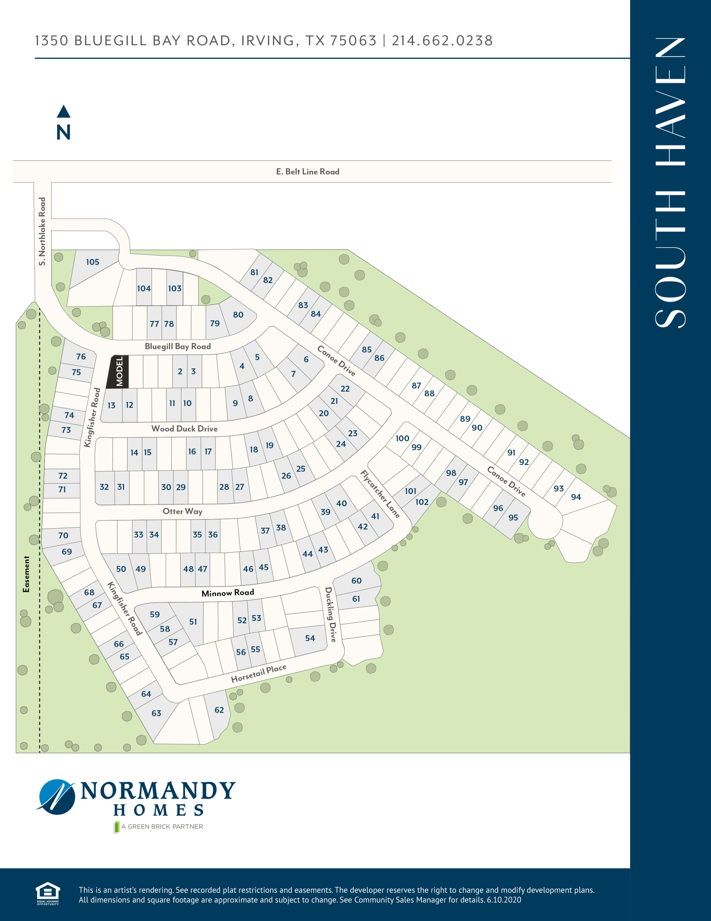 South Haven Site Map